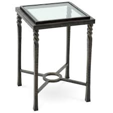 Charleston Forge Bakers Rack Omega Drink Table With Glass Top By Charleston Forge