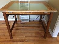 Drafting Table Light Hamilton Drafting Table For Sale Shoppok
