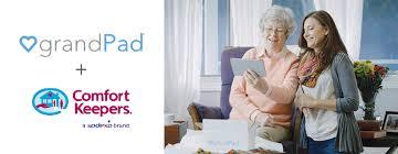 Comfort Keepers Va Comfort Keepers And Grandpad