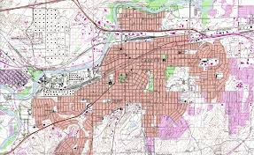 Montana City Map by