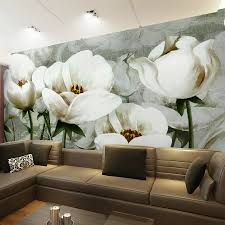 wallpaper livingroom aliexpress com buy large nouveau wallpaper flower embossed