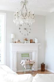 Shabby Chic Paint Colors For Walls by Wall Paint For Living Room A Warm Gray Called Pearl Gray It Is