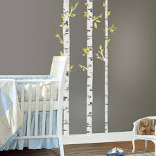 birch trees wall decals roommates