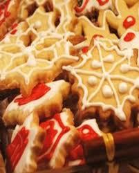 recette de cuisine de noel biscuits de noël glacés au sucre pour 1 personne recettes à table