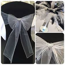 Black And Silver Centerpieces by Best 25 Black Chair Covers Ideas On Pinterest Chair Bows White