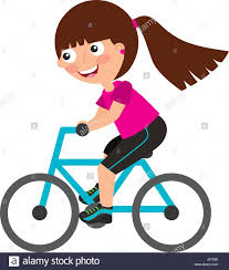 bicycle clipart female cyclist china cps
