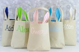 personalized easter personalized easter totes only 20 99 deal