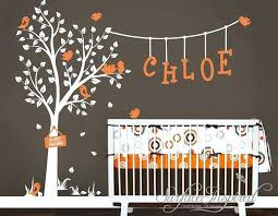 Tree Decal For Nursery Wall Baby Tree Wall Decals Items Similar To Nursery Wall Decals