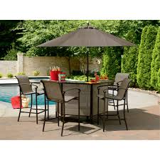 Patio Furniture Milwaukee Wi by Garden Oasis East Point 5 Pc Bar Set