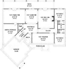 clarita ranch house plans open home floor plans