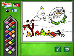 play angry birds coloring game game y8