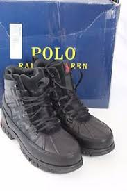 s waterproof boots size 9 polo ralph delton black leather s waterproof boots size