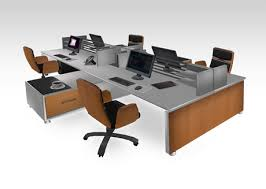 Office Desk Sets Second Marketplace Modern Office Furniture Workstation