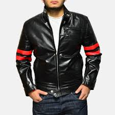 mens moto jacket mens monza black u0026 red leather biker jacket