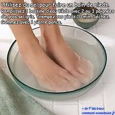 bassine pour bain de si e le bain de pieds au sel un soin naturel et efficace