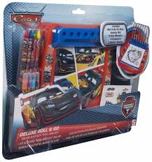 bureau cars disney disney pixar cars deluxe roll and go set colouring