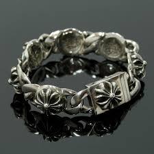 heart links bracelet images Preston rakuten global market chrome chrome hearts used cross jpg