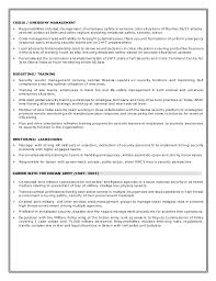 Military Police Resume Examples by Officer Resume Example