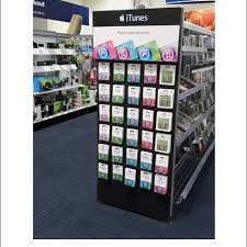 gift card display popon image gallery itunes that s entertainment end cap gift