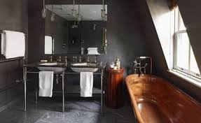 masculine bathroom ideas looks we masculine bathrooms myhome design remodeling