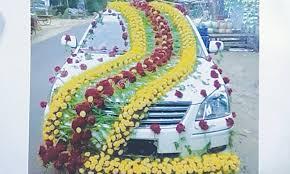 indian wedding car decoration doli on wheels pakistan