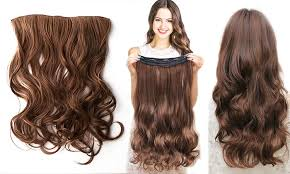 gg s hair extensions hair 18 secret clip in hair extensions groupon