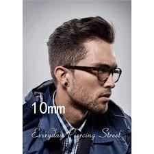 men earring 3 14mm men earring stainless steel small ear studs