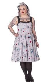 rockabilly plus size dress pluslook eu collection