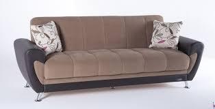 duru brown sofa sleeper by istikbal sunset
