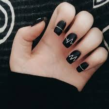 180 best black u0026 white nails images on pinterest make up black