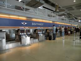 Ticket Desk Southwest Airlines Ticket Counter In San Diego Wn737300 Flickr