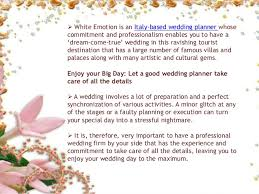 preparation of event plan for wedding make your wedding in milan an unforgettable event with a wedding