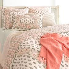 bedroom gorgeous pine cone hill bedding for comfy bedroom