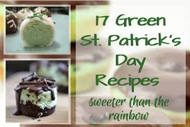 17 green st patrick u0027s day recipes sweeter than the rainbow