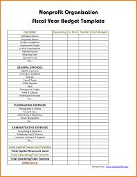 Non Profit Budget Template Excel Non Profit Budget Worksheet Achla Co