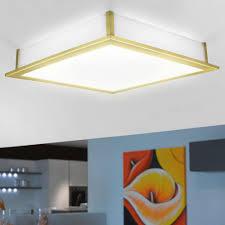 Deckenleuchte Schlafzimmer Messing Deckenleuchte Deckenlampe Beleuchtung Messing Matt Glas Weiß