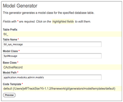 yii module layout problem chapter 12 iteration 9 modules adding administration agile web