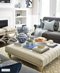 furniture orchid coffee table centerpiece strange 3 ways to style your coffee table or ottoman