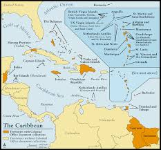 carribbean map caribbean histories revealed map of the caribbean