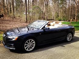 audi convertible 2016 audi a5 convertible cabriolet review in cary north carolina