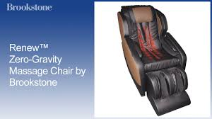 Replacement Parts For Zero Gravity Chairs Renew Zero Gravity Massage Chair By Brookstone Youtube