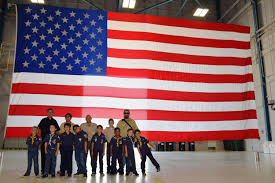 Texas Flag Pledge Boy Scouts Visit The Alamo Wing Learn Mission U003e 433rd Airlift