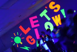 glow in the party decorations blacklight party tips kids glow