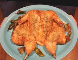 alternative thanksgiving butterflied roast chicken with curry leaf