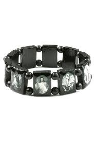 religious bracelet size religious bracelet in black rosarycard net