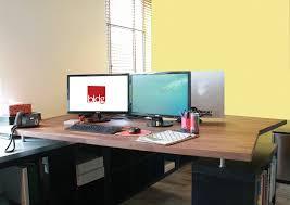 Ikea Standing Desk Hack by Office Desks Ikea Hack Bldg Commercial Interior Architecture
