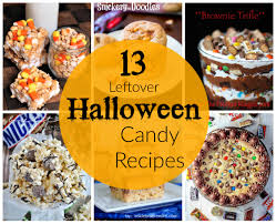 halloween candy dish 13 leftover halloween candy recipes cookies bars u0026 dips
