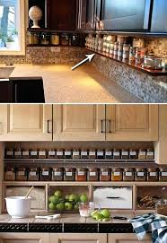 kitchen organization ideas for the inside of the cabinet kitchen countertop storage ideas glassnyc co