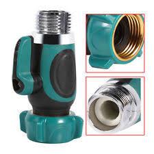 Indoor Faucet To Garden Hose Connector - user friendly 1 way shut off valve for indoor or outdoor faucets