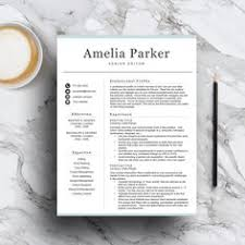 Resume Professional Writers Ripoff Modern Resume Template For Word U0026 Pages Professional Resume 1